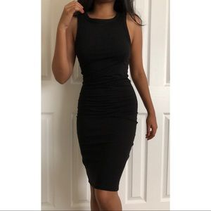 Dresses & Skirts - Black knit bodycon dress
